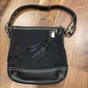 Coach signature medium shoulder bag